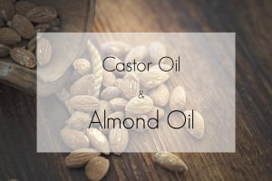 castor oil and almond oil header