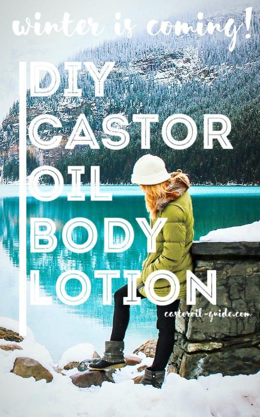 DIY Castor Oil Body Lotion for Winter   Castor Oil Guide